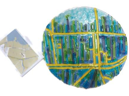 Paradijs (weg) schaal is mijn inzending bij de Groene Hart Kunst Expositie 2015