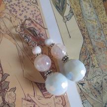 Zeeuwse Knoop, Carneool en Agaath zilveren oorbellen