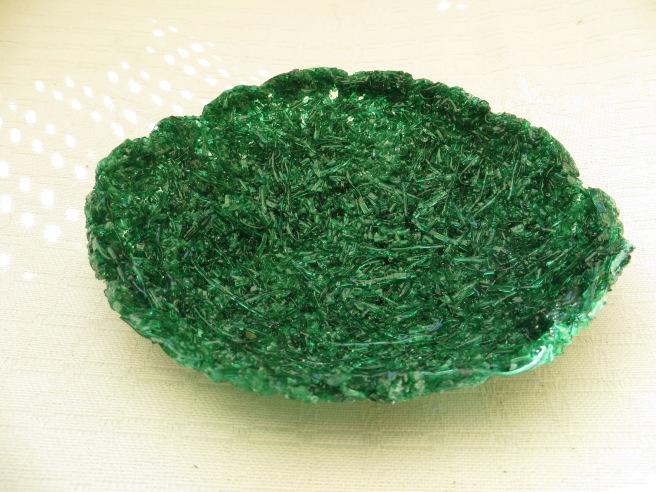 Pate de Verre in gras glas