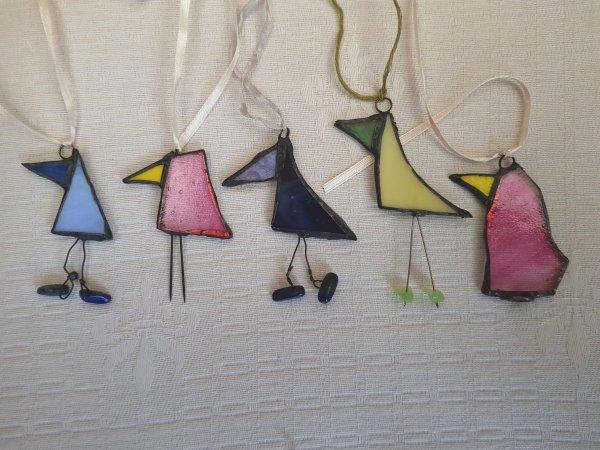 Vogeltjes van Glas –Tiffany